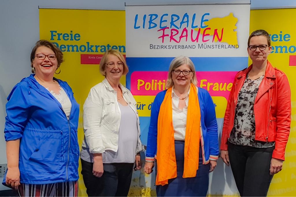 Vorstand_Liberale_Frauen_Kreis_Coesfeld
